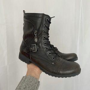 GUESS combat boot